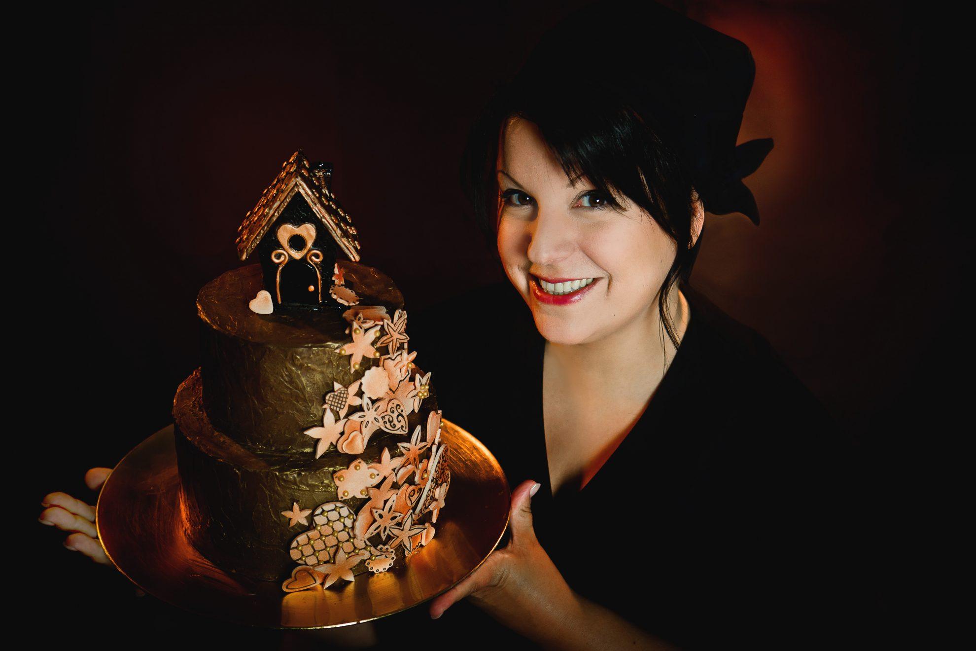 Marie B gâteau personnalisé à Strasbourg